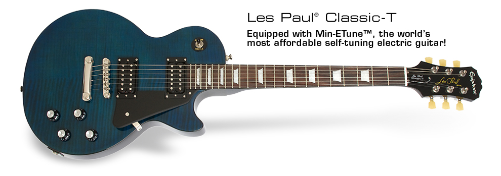 Gearfeel Reviews Epiphone Les Paul Classic T Min Etune
