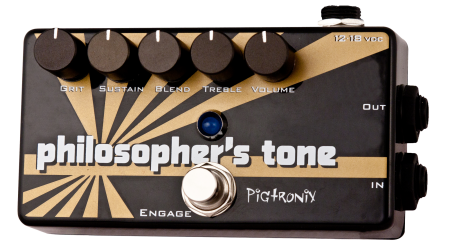Gearfeel Reviews Pigtronix Philosopher S Tone