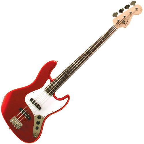 GearFeel Reviews - Squier Affinity Jazz Bass - sound test